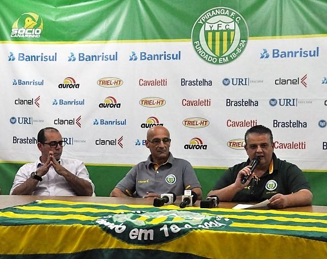 Direção do Ypiranga confirma elenco para pré-temporada 2019   |   Crédito:  YFC/Imprensa