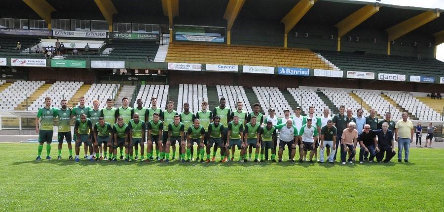 Ypiranga inicia a pré-temporada 2019  |  Crédito: YFC/Imprensa