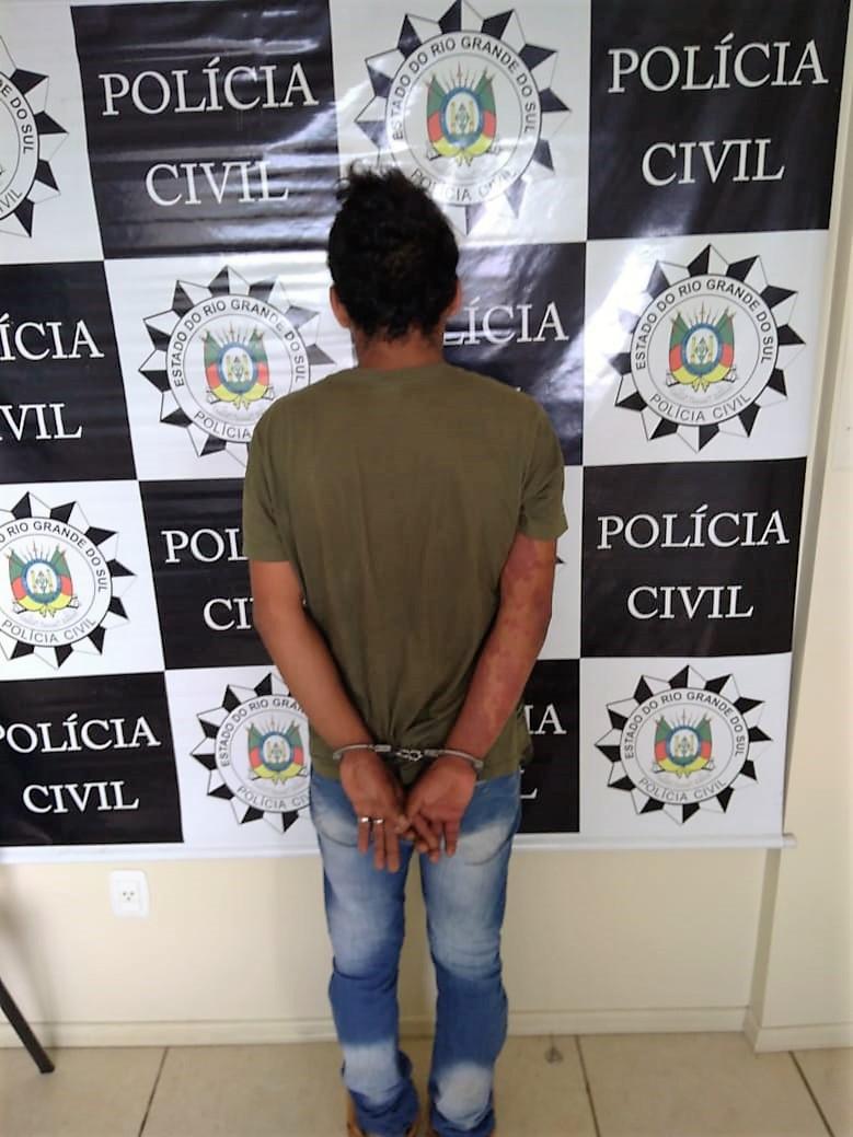 Suspeito de dois assassinatos em Erechim é preso pela Draco no dia 7 de dezembro_Crédito: Polícia Civil de Erechi_Imprensa
