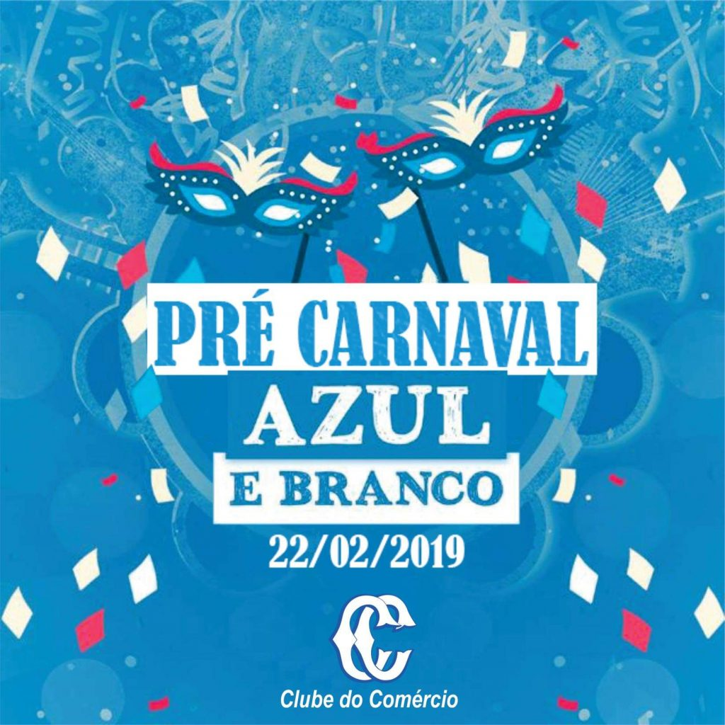 Pré Carnaval Azul e Branco
