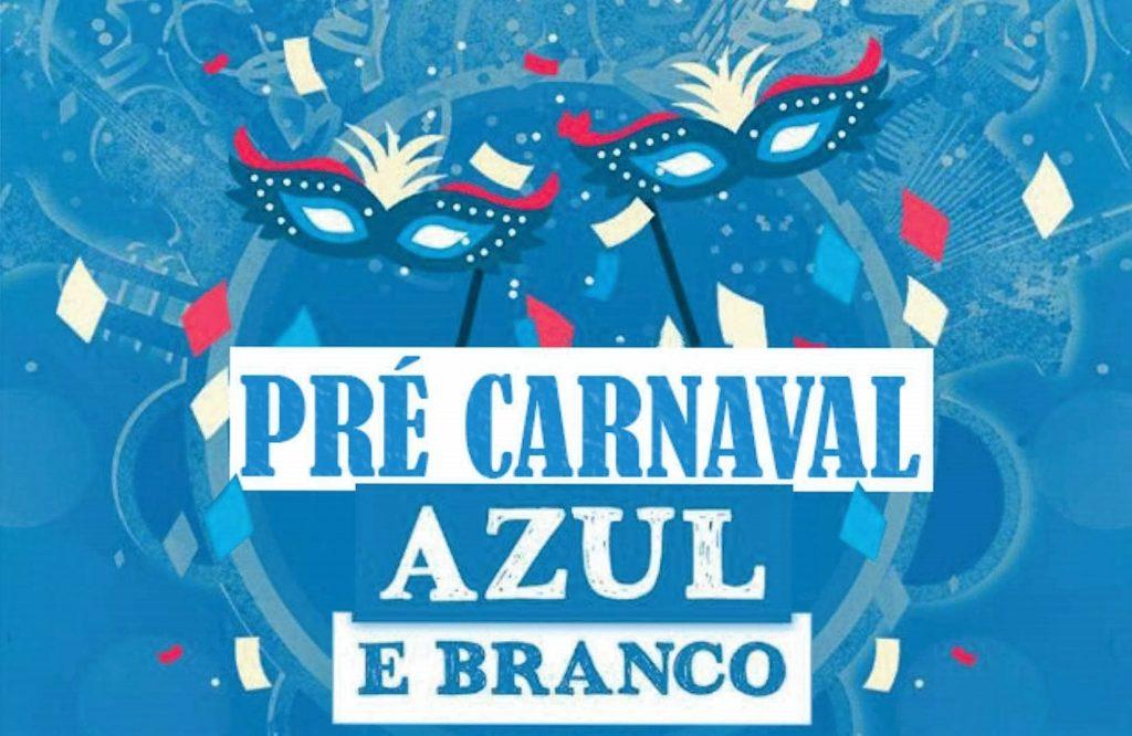 Pré Carnaval Azul e Branco rec