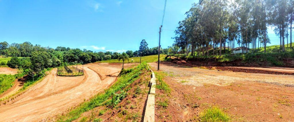Crédito: Partes da pista de rali em Erechim  |  Crédito: Divulgação/PrimeCom