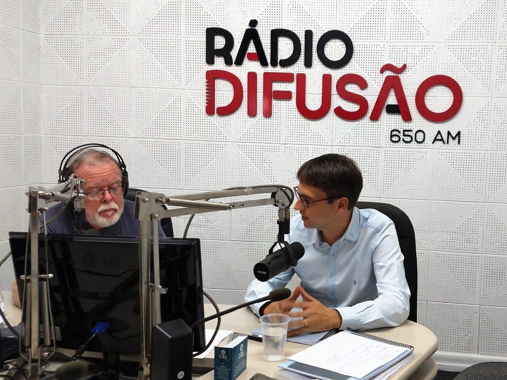 Advogado Luiz Gustavo Ferreira Ramos, especialista em Direito Previdenciário, esclareceu dúvidas sobre a proposta da reforma da Previdência | Crédito: Dóris Fialcoff