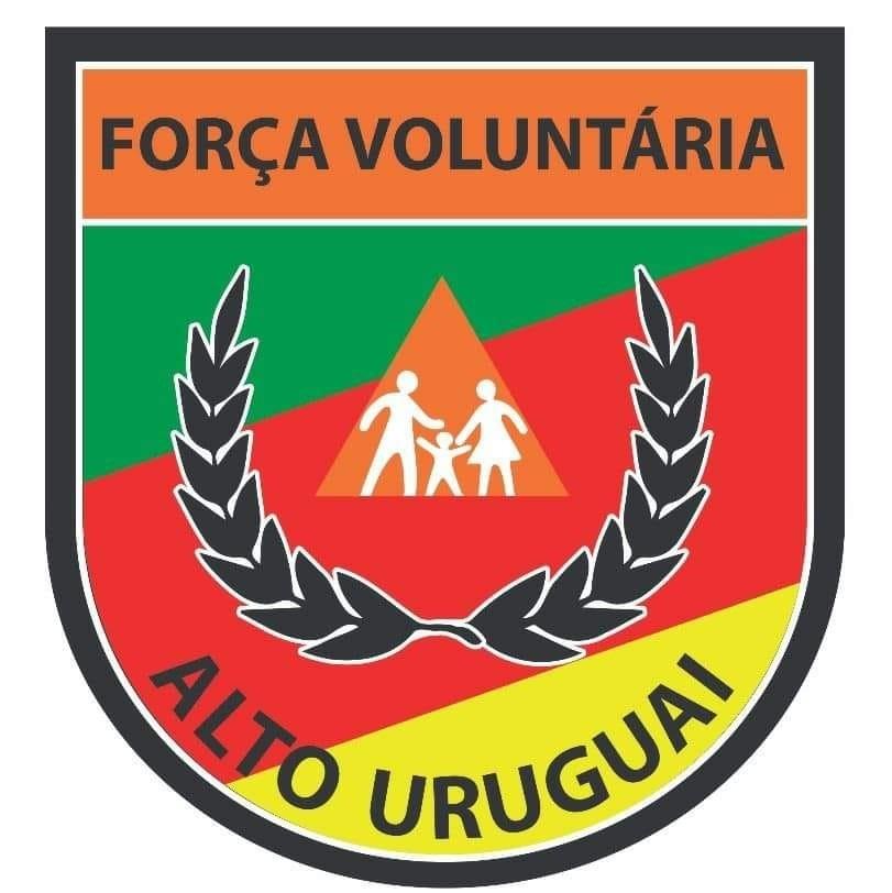 Logo Força Voluntária Alto Uruguai