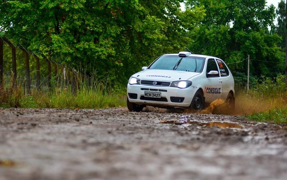 Rally de Estação testa o shakedown, treino final de ajuste para os competidores       Foto: Luan Braciak