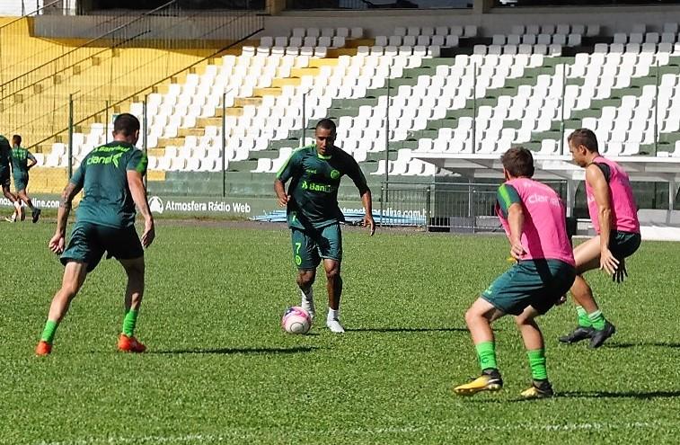 Ypiranga treina para o jogo desta noite, o primeiro do Clube no Maracanã, no Rio de Janeiro | Foto: YFC/Imprensa