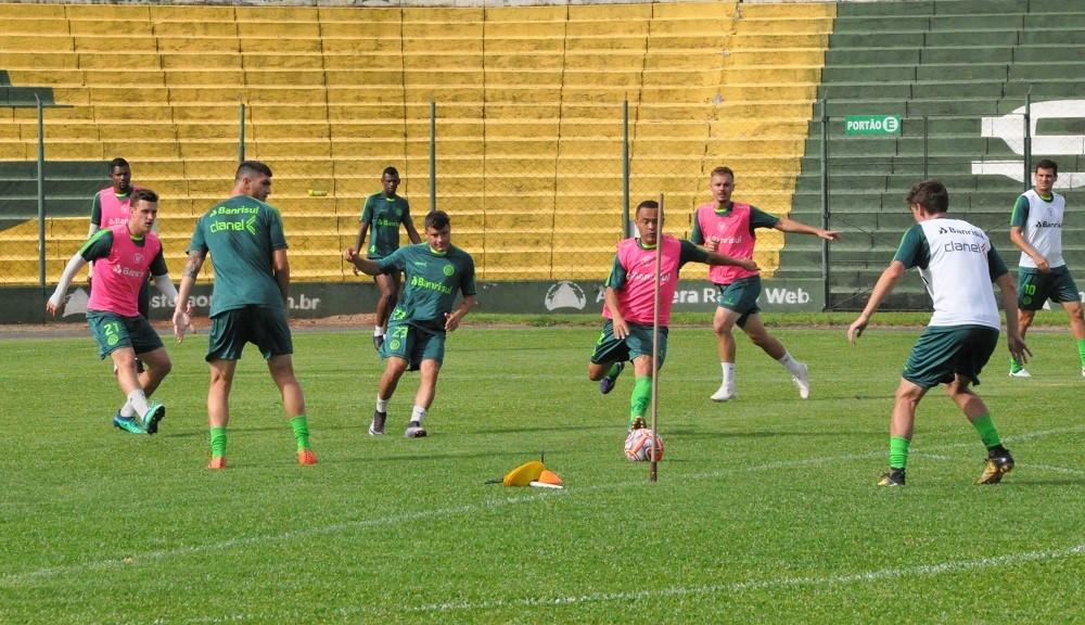 Último treino do Ypiranga para o jogo contra o São Borja será na manhã de sábado   |   Foto:  YFC/Imprensa