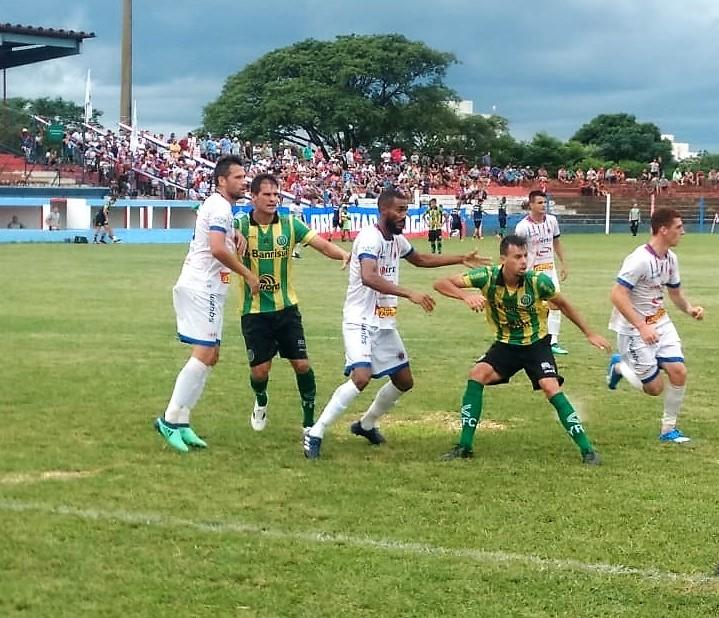 O placar da partida foi 2 a 0 para o São Borja  |  Foto: YFC/Imprensa