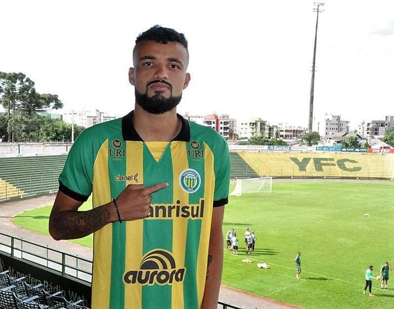 Zagueiro Marcão  é o mais novo atleta do Ypiranga   |  Foto: YFC/Imprensa