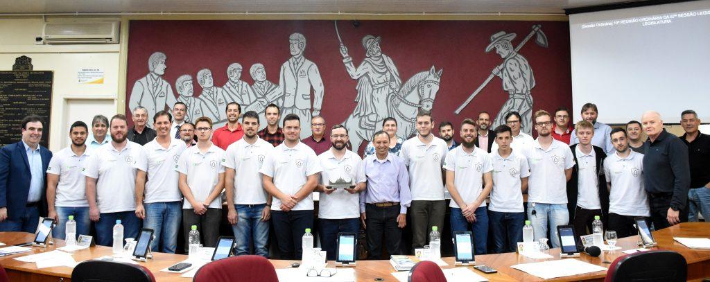 Equipe Drop Team, do IFRS - Campus Erechim, ficou em 3º lugar em competição internacional