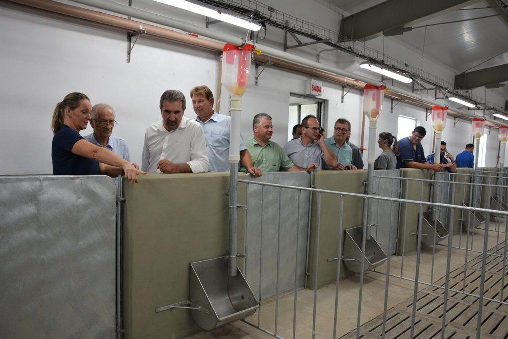 Na inauguração, todos os espaços foram conhecidos pela diretoria da Cooperativa | Foto: Aurora/Imprensa
