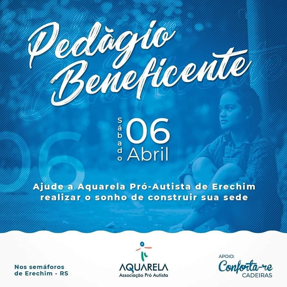 pedágio solidário Aquarela Pró-Autista_060419