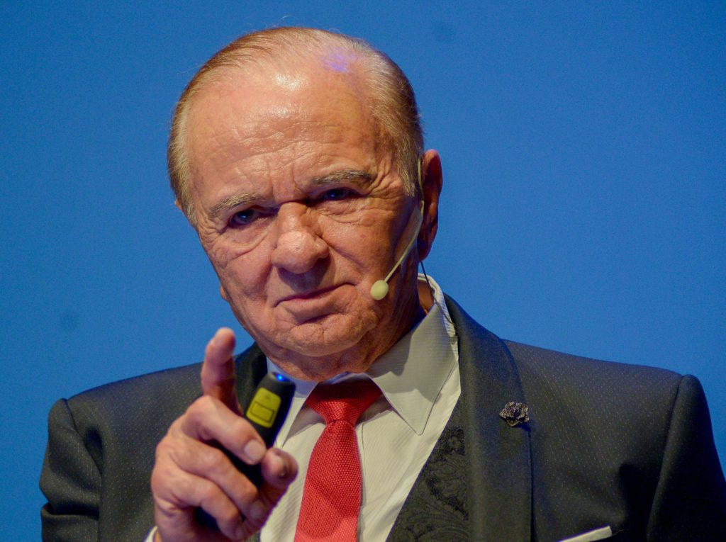 Otelio Drebes, empresário que criou o 'Prêmio Fala, Professor' | Foto: Patricia Batista