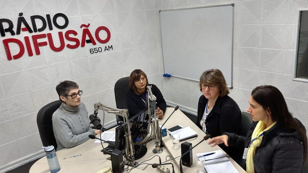 Dóris FialcofF, Cláudia Pires, Margarete Czechowski e Andreia Nava | Foto: Luís Henrique Moretto