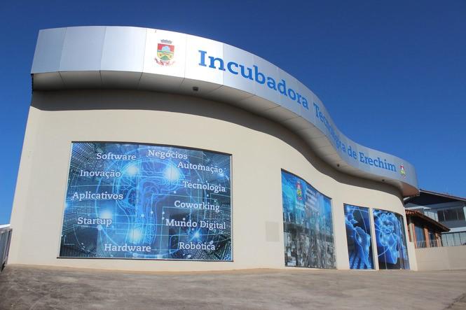 Sede da Incubadora Tecnológica de Erechim | Foto: Prefeitura de Erechim/Ascom