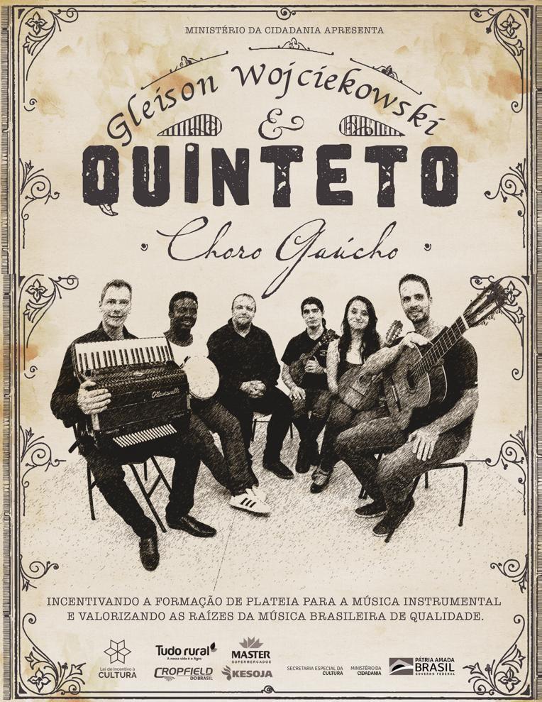 Capa CD Choro Gaúcho_Gleison Wojciekowski e quinteto