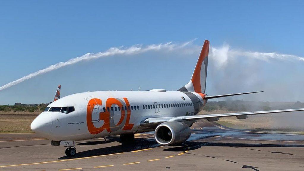 Gol passa a operar no aeroporto de Passo Fundo   |   Foto: GOL/Divulgação