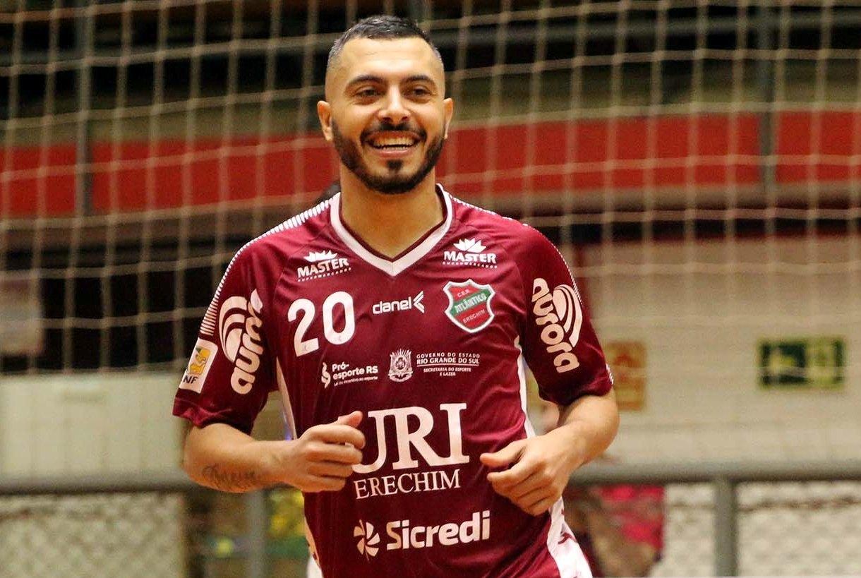 Allan estará mais uma vez na Seleção Brasileira de Futsal  |  Foto: Edson Castro