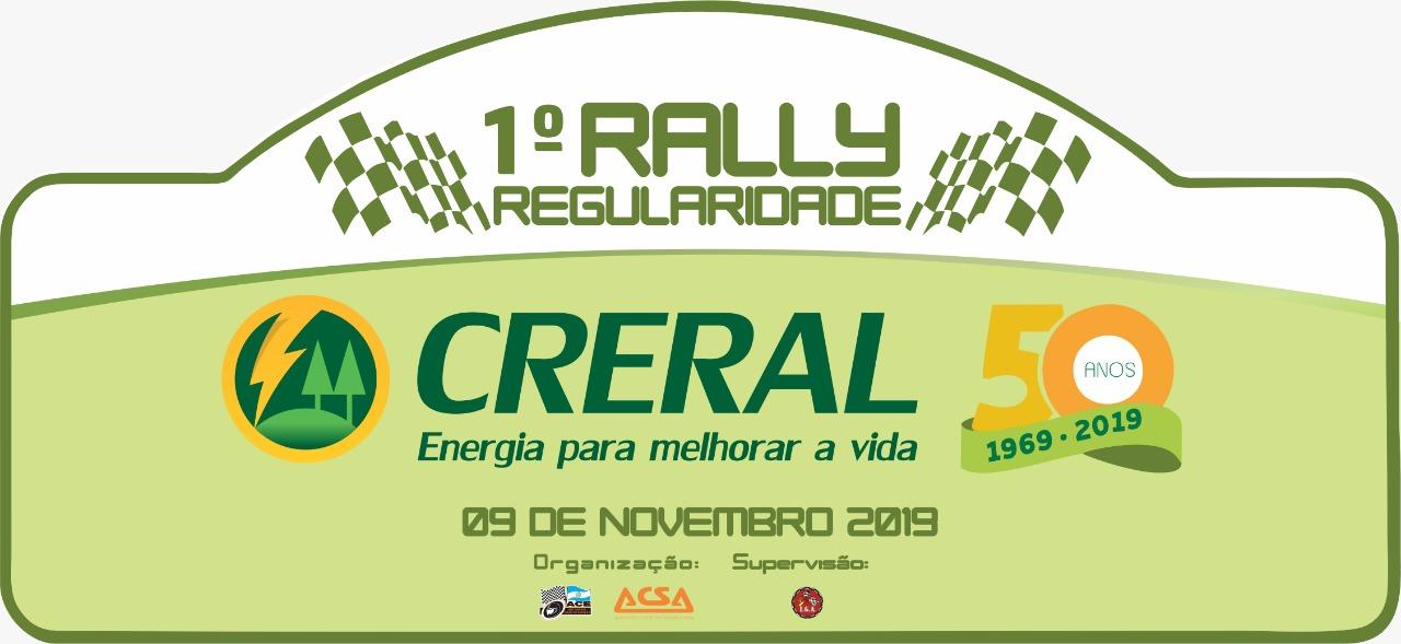 Rally regularidade Creral