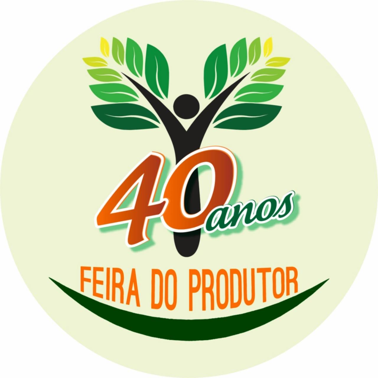 Logo 40 anos feira do produtor