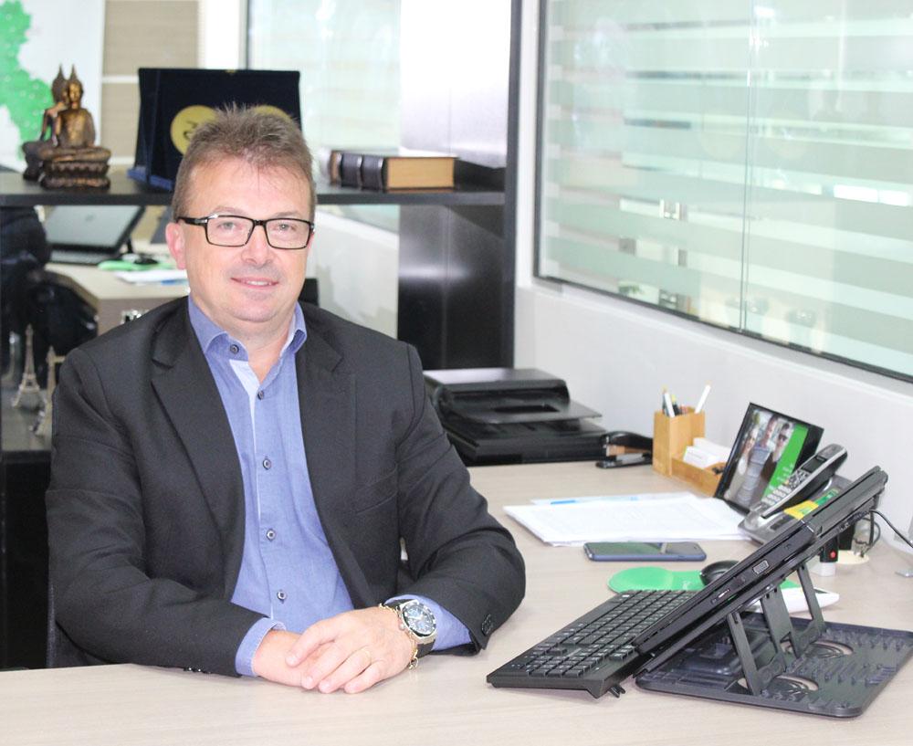 Elisandro Luis Marmentini, diretor executivo da Sicredi UniEstados | Foto: Sicredi UniEstados/Divulgação