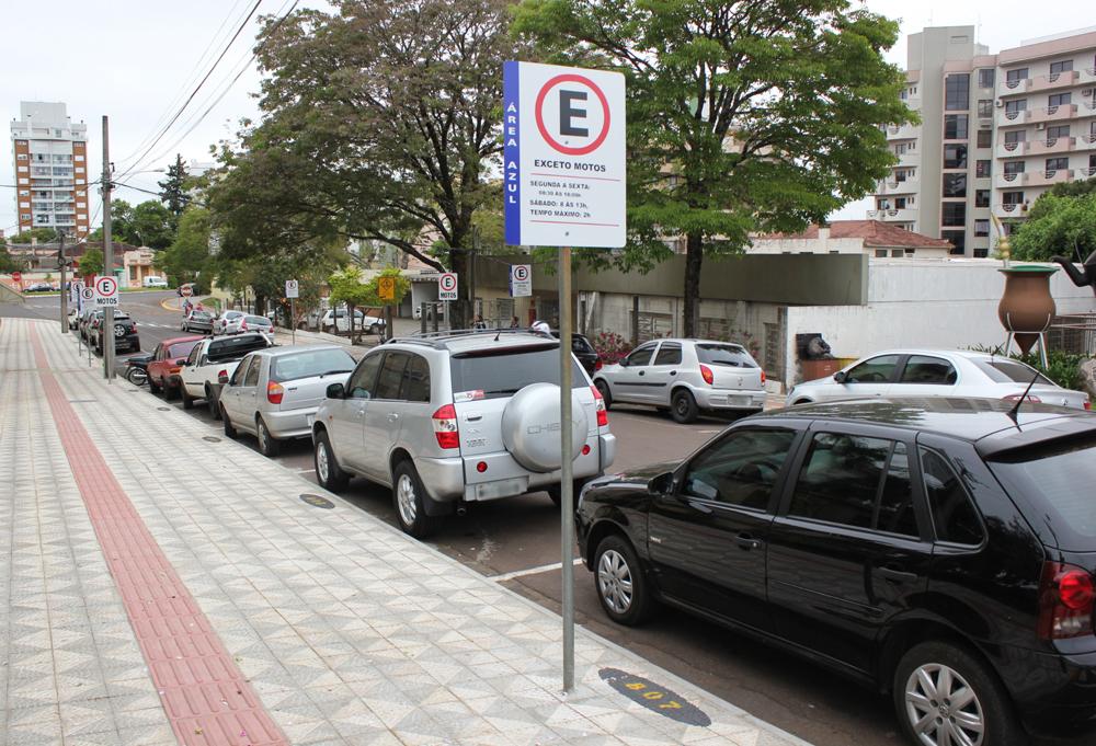 Novos valores do Estacionamento Rotativo Regulamentado em Erechim entram em vigor dia 3 de fevereiro