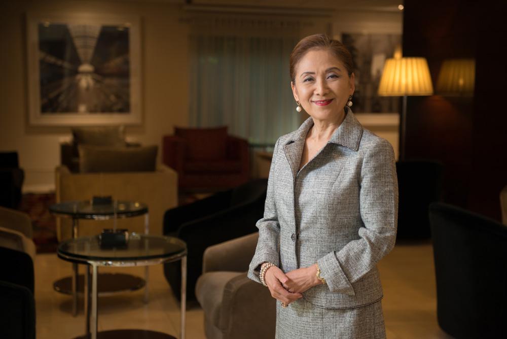 Chieko Aoki, presidente da rede Blue Tree Hotels   Foto: Blue Tree Hotels/Divulgação
