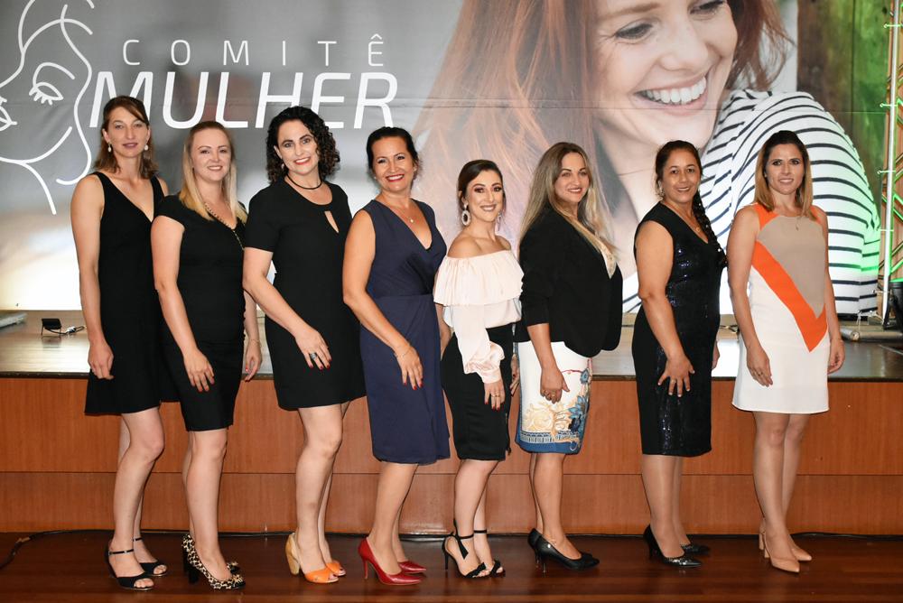 Integrantes do Comitê Mulher
