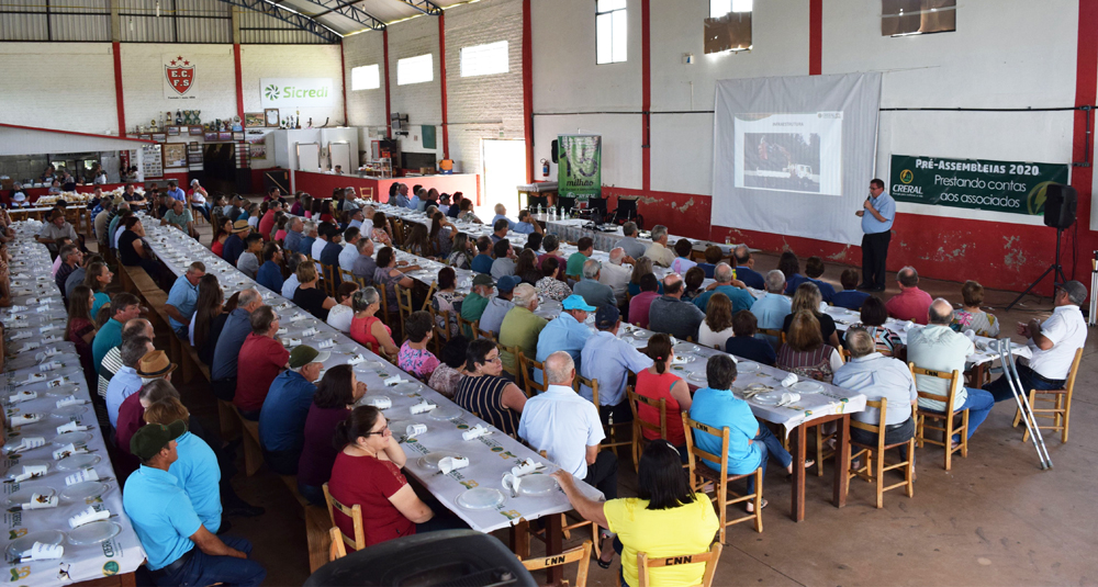 No total, serão 21 pré-assembleias nas regiões de atuação da Creral | Foto: Creral/Divulgação
