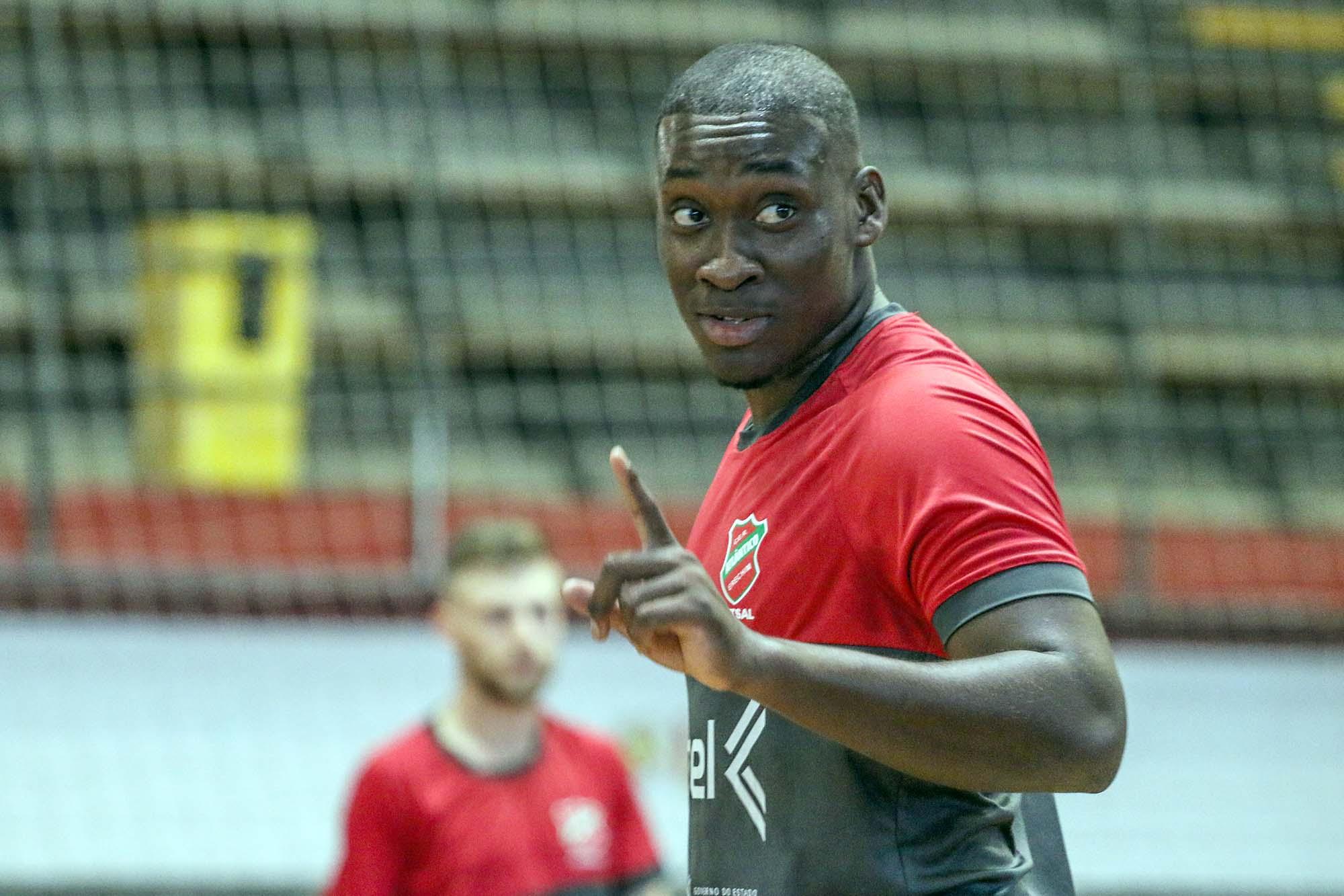 Dill marcou o único gol do Atlântico na partida contra o Joaçaba  |  Foto: Atlântico Futsal/Imprensa