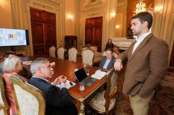 Medidas propostas pela Seapen foram discutidas com governador Eduardo Leite | Foto: Felipe Dalla Valle/Divulgação Palácio Piratini