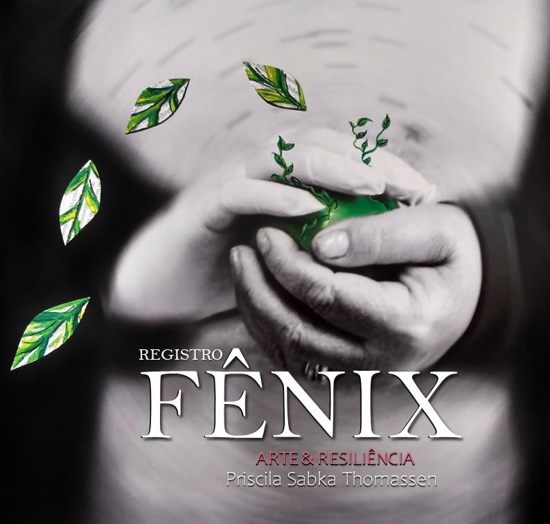 Capa do livro Registro da Fênix: arte e resiliência