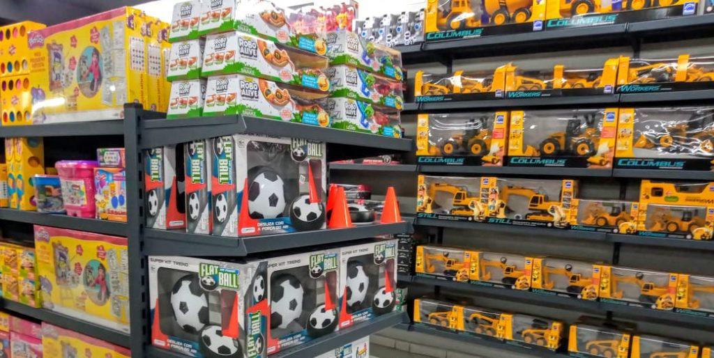 Loja Clip Erechim_inauguração 220620 brinquedos
