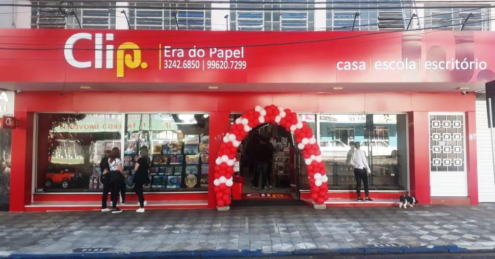 Em Erechim, a loja Clip fica na Rua Alemanha, 107 | Foto: Rede Clip/Divulgação