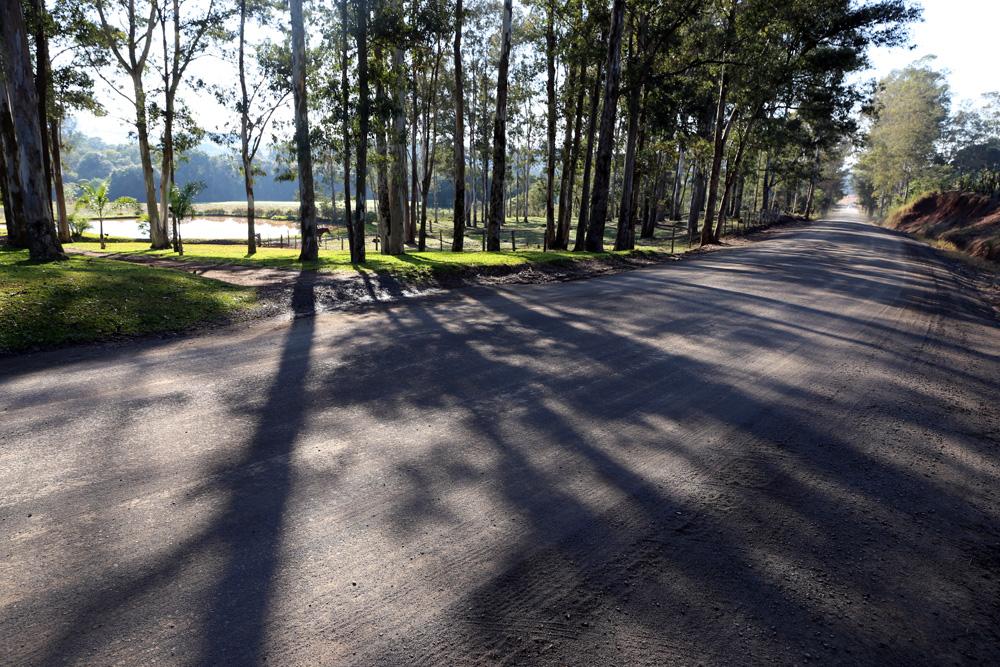 Primeira etapa asfaltamento Rua Etelvino