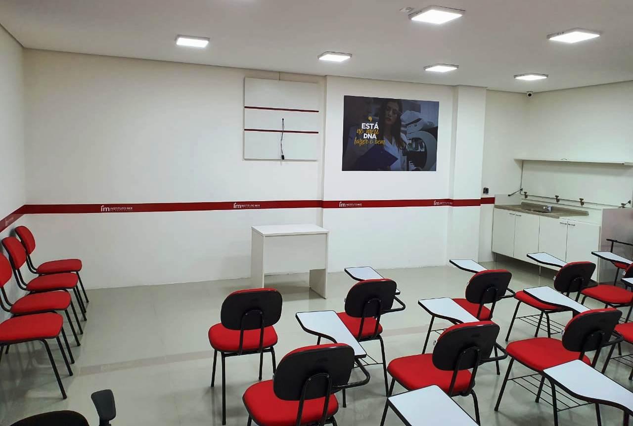 Sala de aula Instituto Mix