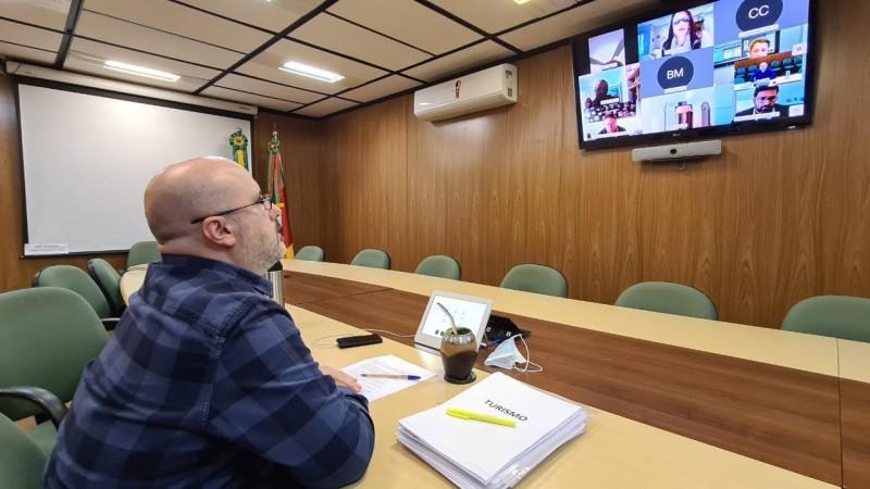 CONETUR reunião - Foto: Sedetur/Ascom