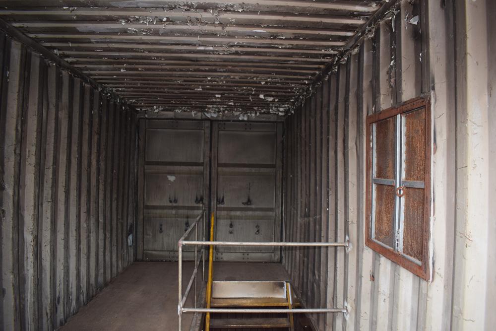 Parte interna do segundo andar