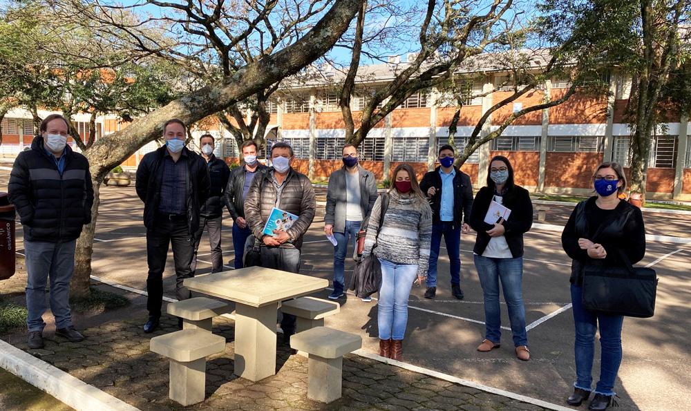 Novos professores participam de formação | Foto: URI Erechim/Imprensa